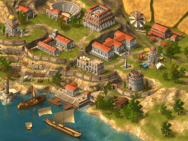 Grepolis Stadtmauer
