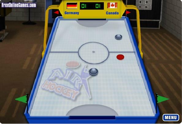airhockey spielen