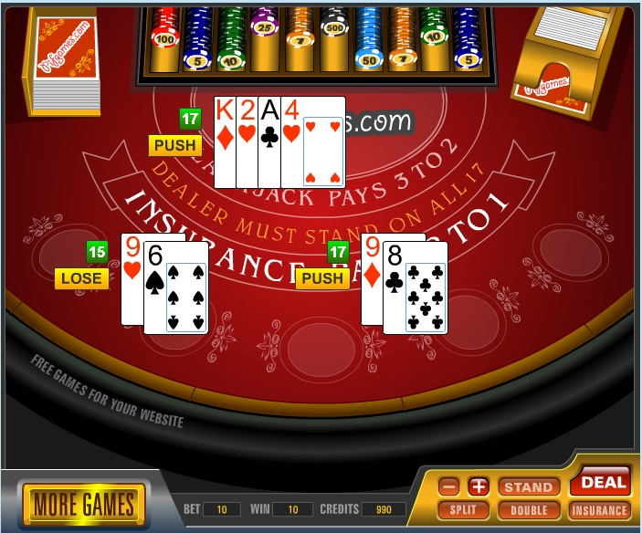 Play Free Casino Online Games