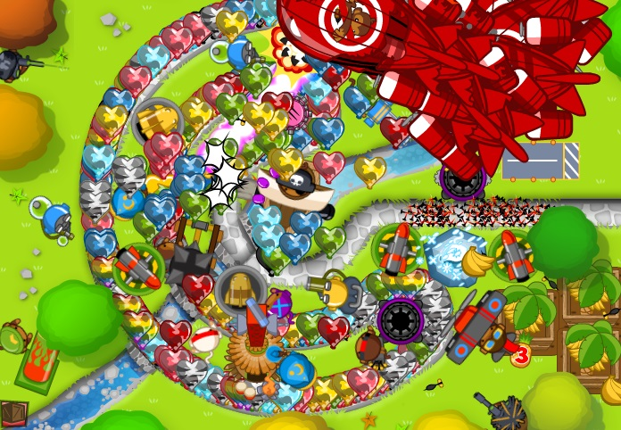 ... bloons tower defense five bloons tower defense level bloons td 5 696 x