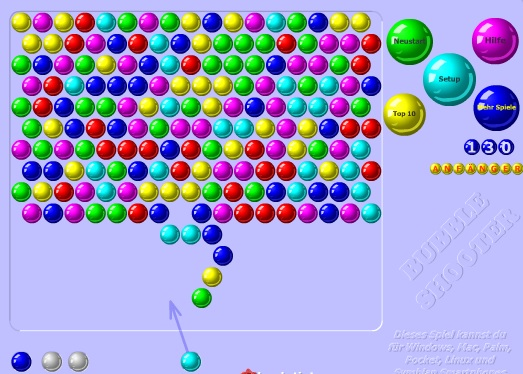 bubble shooter spielen de