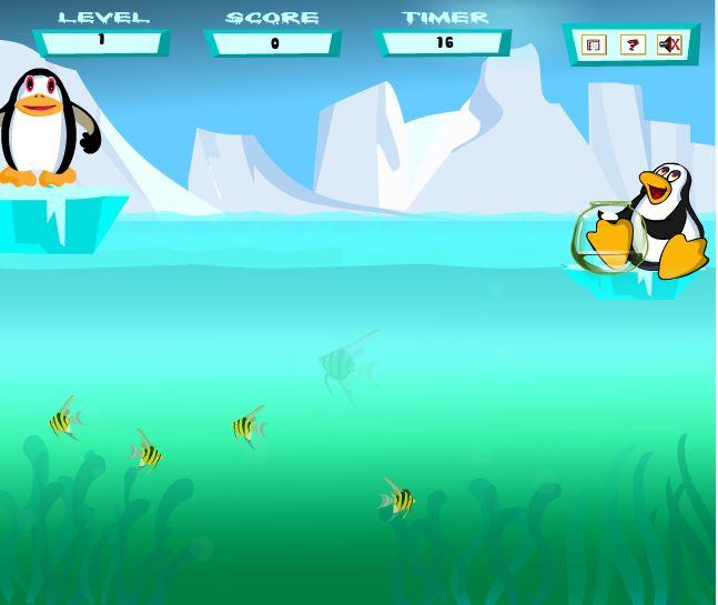 pinguin fliegen spiel