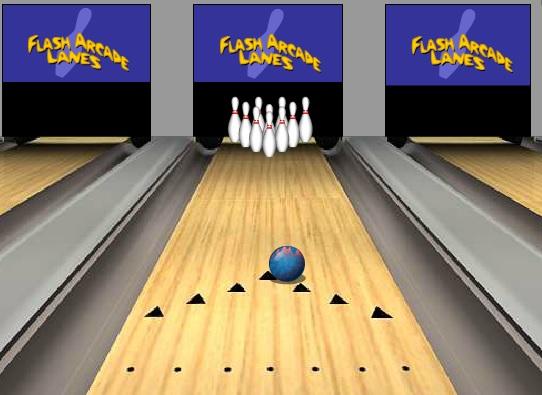flash bowling game