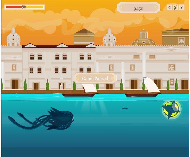 kraken spiele