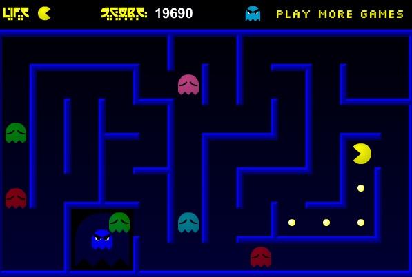 Kostenlos Pacman Spielen