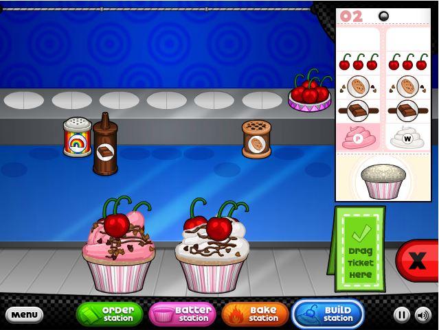 papas cupcakeria kostenlos spielen