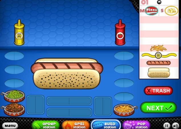 papas hot doggeria jetzt spielen