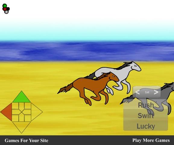 Pferderennen Kinderspiel