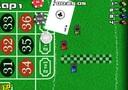 Rennen auf dem Roulettetisch