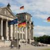 Der Deutsche Bundestag in Berlin