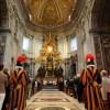 Der Petersdom in Rom (Vatikanstadt)