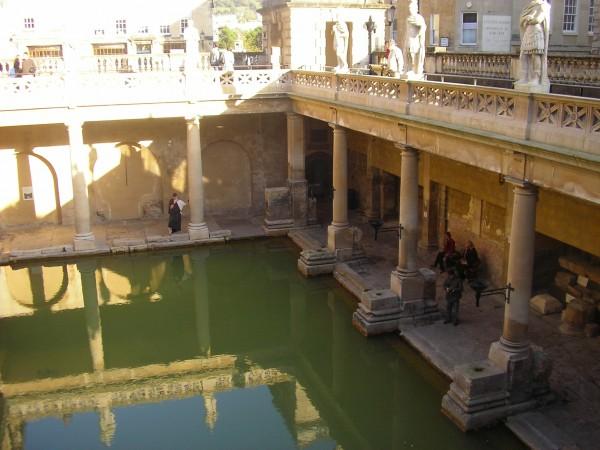 Die römischen Bäder von Bath