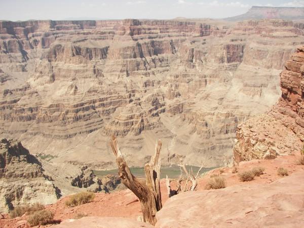Blick in die Schluchten des Grand Canyon