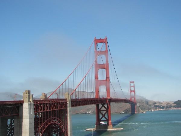 Das Golden Gate Bridge - Wahrzeichen der amerikanischen Westküste