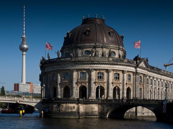 Blick auf die Berliner Museumsinsel