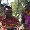 Masai mit Halsschmuck