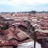 Blick über Kibera, dem Armenviertel Nairobis