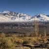 Panoramablick über die Anden