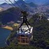 Blick vom Zuckerhut aus auf Rio de Janeiro
