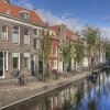 Delft - Blick vom Kanal aus