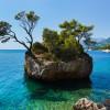 Bizarre Felsformation in der kroatischen Adria