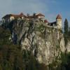 Burg Bran im Sonnenlicht