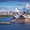 Blick über die Skyline von Sydney