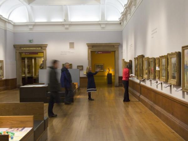 National Art Gallery in Edinburgh