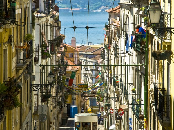 Acensor da Gloria in Lissabon