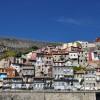 Blick auf Häuserfassaden in Porto