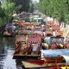 Traditioneller mexikanischer Flusshandel