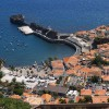 Hafen auf Madeira aus der Vogelperspektive