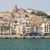 Ibiza vom Wasser aus betrachtet