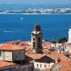 Sonniger Blick über die Dächer von Nizza