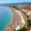 Der Stadtstrand in Nizza