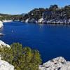 Blaue Lagune in der Nähe von Marseille