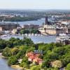 Panoramablick über die Stockholmer Innenstadt