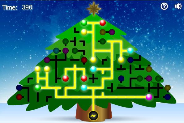Light Up A Christmas Tree Puzzle